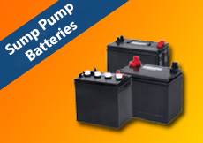 New Products - Sump Pump Batteries